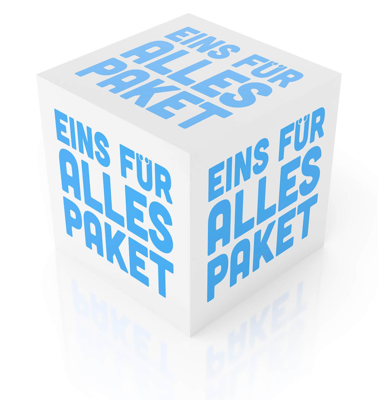 Wir definieren IT-Service neu für Firmen - Das Eins-für-alles-Paket.